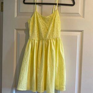 NWT Yellow H&M Dress